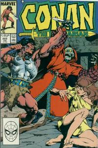 Cover for Conan the Barbarian (Marvel, 1970 series) #203 [Direct]