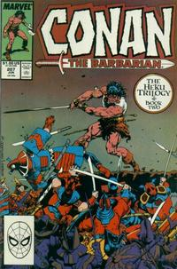Cover Thumbnail for Conan the Barbarian (Marvel, 1970 series) #207 [Direct Edition]
