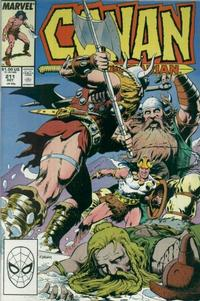 Cover Thumbnail for Conan the Barbarian (Marvel, 1970 series) #211 [Direct Edition]
