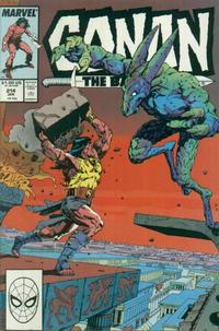 Cover Thumbnail for Conan the Barbarian (Marvel, 1970 series) #214 [Direct Edition]