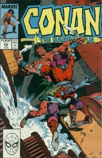 Cover Thumbnail for Conan the Barbarian (Marvel, 1970 series) #215 [Direct Edition]