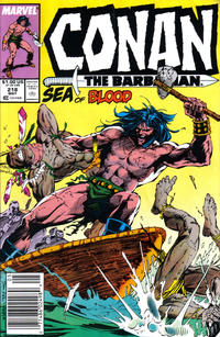 Cover for Conan the Barbarian (Marvel, 1970 series) #218 [Direct]