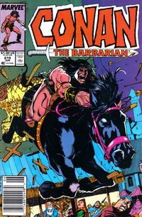 Cover Thumbnail for Conan the Barbarian (Marvel, 1970 series) #219 [Newsstand]