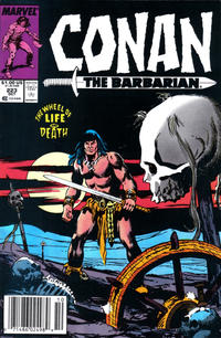 Cover for Conan the Barbarian (Marvel, 1970 series) #223 [Direct Edition]