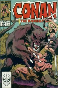 Cover Thumbnail for Conan the Barbarian (Marvel, 1970 series) #224 [Direct Edition]