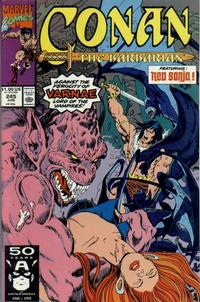 Cover Thumbnail for Conan the Barbarian (Marvel, 1970 series) #245 [Direct Edition]