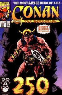 Cover Thumbnail for Conan the Barbarian (Marvel, 1970 series) #250 [Direct]