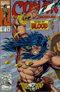 Cover Thumbnail for Conan the Barbarian (Marvel, 1970 series) #261 [Direct Edition]