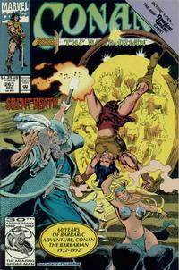 Cover Thumbnail for Conan the Barbarian (Marvel, 1970 series) #263 [Direct Edition]