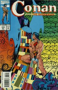 Cover Thumbnail for Conan the Barbarian (Marvel, 1970 series) #274 [Direct Edition]