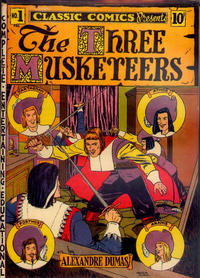 Cover Thumbnail for Classic Comics (Gilberton, 1941 series) #1 - The Three Musketeers