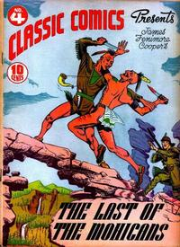 Cover Thumbnail for Classic Comics (Gilberton, 1941 series) #4 - The Last of the Mohicans