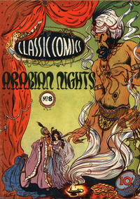 Cover Thumbnail for Classic Comics (Gilberton, 1941 series) #8 - Arabian Nights