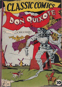 Cover Thumbnail for Classic Comics (Gilberton, 1941 series) #11 - Don Quixote