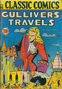 Cover Thumbnail for Classic Comics (Gilberton, 1941 series) #16 - Gulliver's Travels