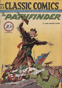Cover Thumbnail for Classic Comics (Gilberton, 1941 series) #22 - The Pathfinder