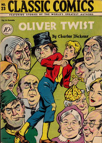 Cover Thumbnail for Classic Comics (Gilberton, 1941 series) #23 - Oliver Twist