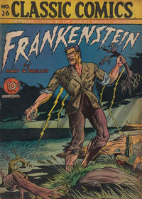 Cover Thumbnail for Classic Comics (Gilberton, 1941 series) #26 - Frankenstein