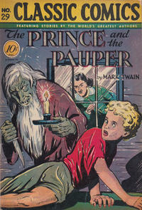 Cover Thumbnail for Classic Comics (Gilberton, 1941 series) #29 - The Prince and the Pauper