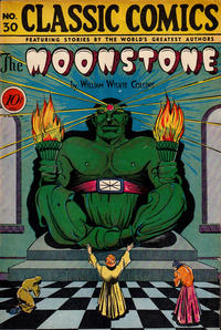 Cover Thumbnail for Classic Comics (Gilberton, 1941 series) #30 - The Moonstone