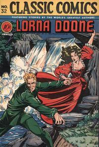 Cover Thumbnail for Classic Comics (Gilberton, 1941 series) #32 - Lorna Doone