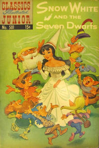 Cover Thumbnail for Classics Illustrated Junior (Gilberton, 1953 series) #501 - Snow White and the Seven Dwarfs