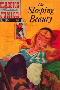 Cover Thumbnail for Classics Illustrated Junior (Gilberton, 1953 series) #505 - The Sleeping Beauty