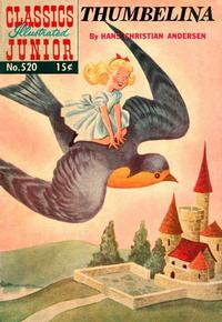 Cover Thumbnail for Classics Illustrated Junior (Gilberton, 1953 series) #520 - Thumbelina