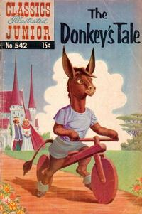 Cover Thumbnail for Classics Illustrated Junior (Gilberton, 1953 series) #542 - The Donkey's Tale