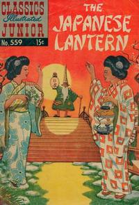 Cover Thumbnail for Classics Illustrated Junior (Gilberton, 1953 series) #559 - The Japanese Lantern