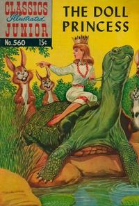 Cover Thumbnail for Classics Illustrated Junior (Gilberton, 1953 series) #560 - The Doll Princess