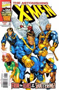 Cover Thumbnail for Astonishing X-Men (Marvel, 1999 series) #1