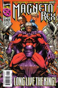 Cover Thumbnail for Magneto Rex (Marvel, 1999 series) #1 [Direct Edition]