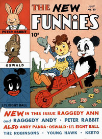 Cover Thumbnail for New Funnies (Dell, 1942 series) #65