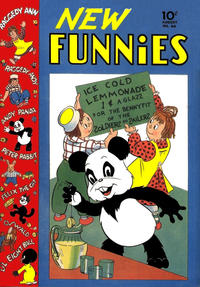 Cover Thumbnail for New Funnies (Dell, 1942 series) #66