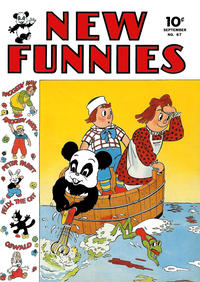 Cover Thumbnail for New Funnies (Dell, 1942 series) #67