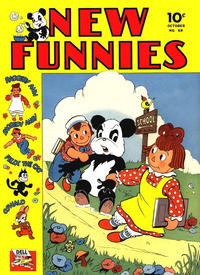 Cover Thumbnail for New Funnies (Dell, 1942 series) #68