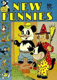 Cover Thumbnail for New Funnies (Dell, 1942 series) #69