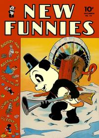 Cover Thumbnail for New Funnies (Dell, 1942 series) #70