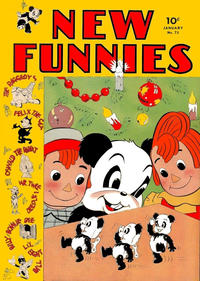Cover Thumbnail for New Funnies (Dell, 1942 series) #71