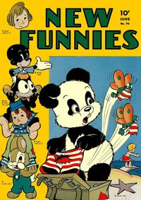 Cover Thumbnail for New Funnies (Dell, 1942 series) #76