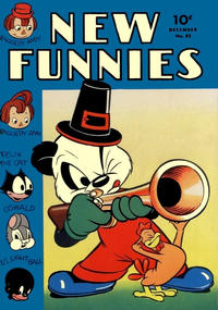 Cover Thumbnail for New Funnies (Dell, 1942 series) #82