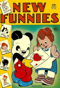 Cover Thumbnail for New Funnies (Dell, 1942 series) #85