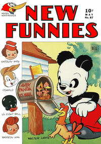 Cover Thumbnail for New Funnies (Dell, 1942 series) #87