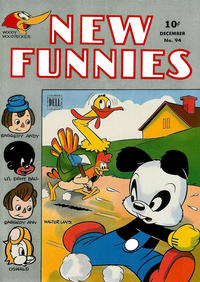 Cover Thumbnail for New Funnies (Dell, 1942 series) #94