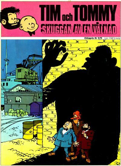 Cover for Tim och Tommy: Skuggan av en vålnad (Semic, 1971 series) #[nn] - Skuggan av en vålnad