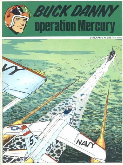 Cover for Buck Danny: Operation Mercury (Semic, 1971 series) #[nn] - Operation Mercury