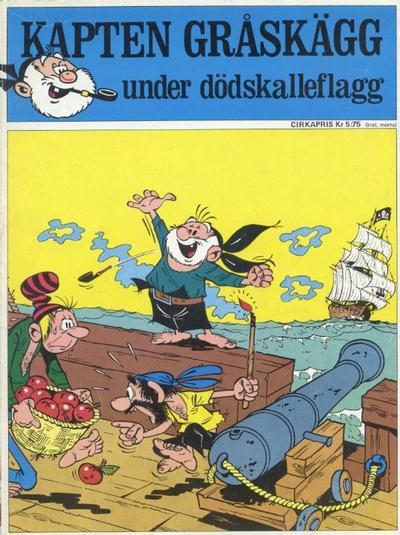 Cover for Kapten Gråskägg under dödskalleflagg (Semic, 1971 series) #[nn] - Kapten Gråskägg under dödskalleflagg