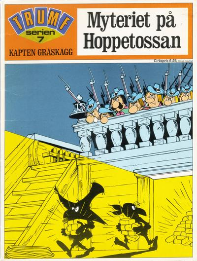 Cover for Trumfserien (Semic, 1971 series) #7 - Kapten Gråskägg: Myteriet på Hoppetossan