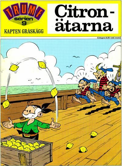 Cover for Trumfserien (Semic, 1971 series) #9 - Kapten Gråskägg: Citronätarna